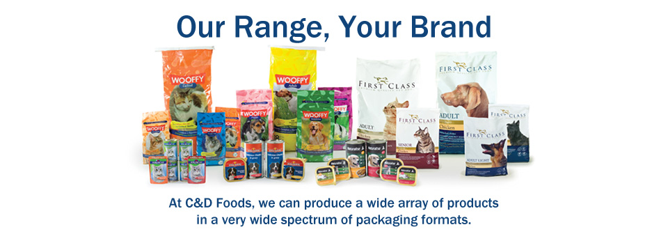 Our Range, Your Brand